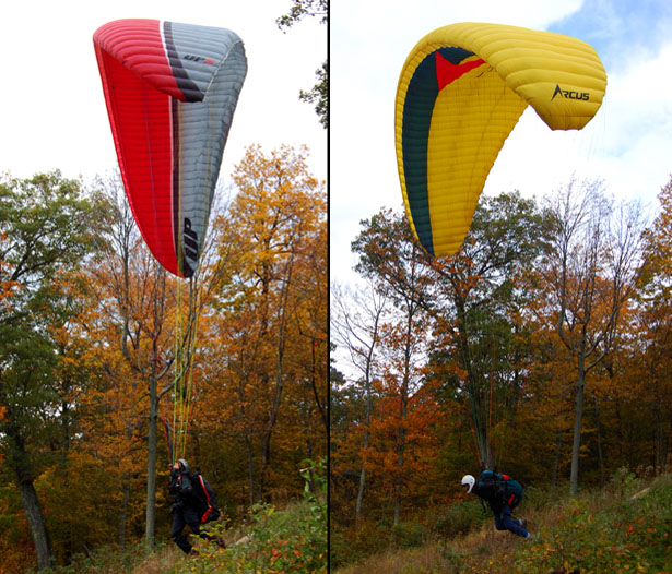 Alan and Tim Launching